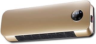 Radiador eléctrico MAHZONG Calentador de Aire con Calentador eléctrico de 2kW con Elemento PTC, Control Remoto y Temporizador