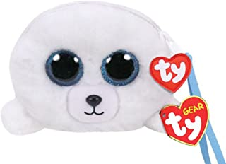 TY Gear Beanie Boos ICY The Seal Wristlet Coin Purse with Strap
