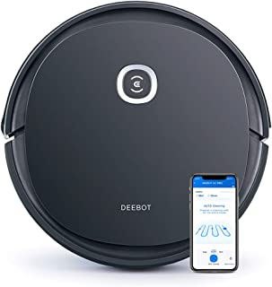 【Max 800ml Dust Bin】 ECOVACS DEEBOT U2 Pro Smart Robotic Vacuum Cleaner 2 in 1 Wet and Dry Max 800ML dust bin Plus 400ML W...