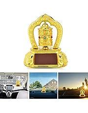 "Exquise 3,7""x 2,5"" x 4,5"" gebedsmolen, Tibetaanse gebedsmolen, boeddhistische gelovigen voor Home Decor Office Decor vrienden auto Decor"