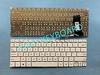 JUNLI KEYBOARD For Asus E202 E202MA E202SA TP201SA US White Laptop Notebook Keyboard