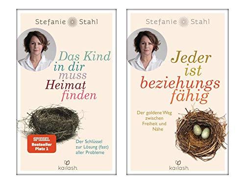 Stefanie Stahl | 2er Set als Quality Paperback | Das Kind in dir muss Heimat finden + Jeder ist beziehungsfähig