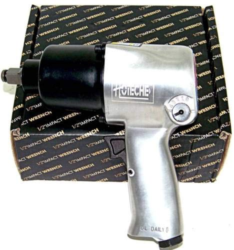 """(Best tools) Air Impact Wrench 1/2"""" Twin Hammer Max Torque 750 ft/lb 5 torque Settings"""