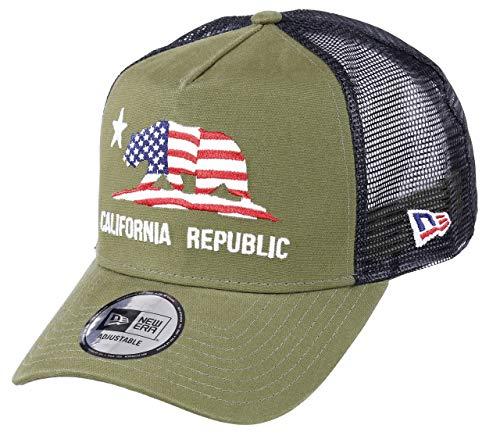 New Era California Trucker Cap California Canvas New Era A Frame Adjustable...