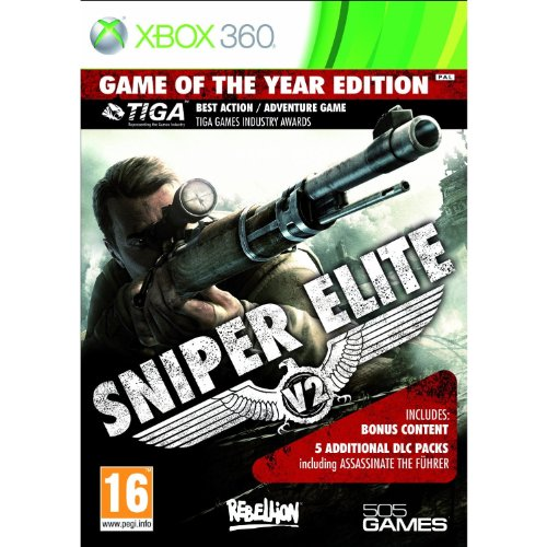 Halifax Sniper Elite Game of the Year, Xbox 360 - Juego (Xbox 360)