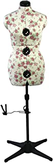 Sewing Online Mannequin Couture Réglable Bourgeon de Rose [Moyenne]