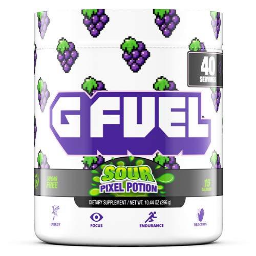 G Fuel Sour Pixel Potion Tub (40 Servings) Elite Energy and Endurance Formula