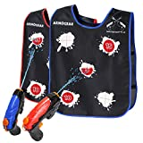 ArmoGear Water Guns & Water Activated Vests – Water Toy for Kids in The Backyard – Great Outdoor Water Fun for Kids – on Backyard Water Fun for Kids - 2 Water Guns & Vests – Ages 8 Years +