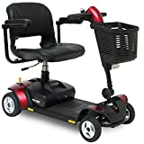 Pride Go-Go Elite Traveller LX Mobility Scooter with suspension seat, front light and high level charging point 12ah gogo