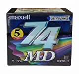 maxell 音楽用MD(ミニディスク) MD-74MIXE 5P 74分 5枚パック