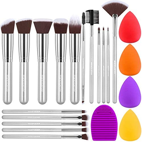 InnoGear Makeup Brushes Set Professional Cosmetic Brush Set with 16 Makeup Brushes and Sponges product image