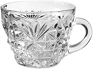 Anchor Hocking Arlington Clear Glass ( 6 Oz Punch, Coffee or Tea Cup )