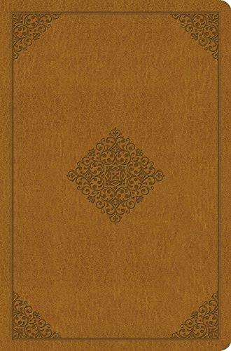 ESV Value Compact Bible (TruTone, Goldenrod, Ornament Design)