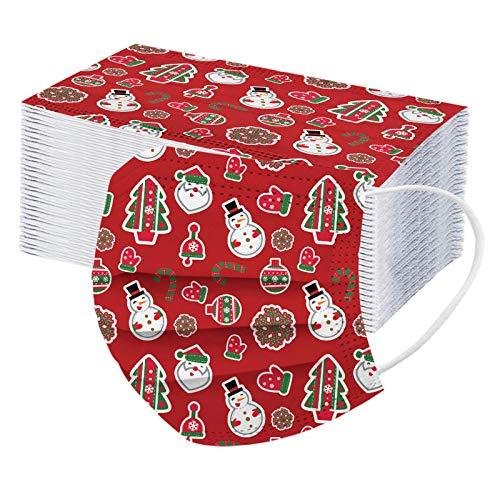 50Piezas niño Protección Tie Dye impresión no tejida Desechable con Elástico Banda para Los Oídos,20201118-Groveerble-01741