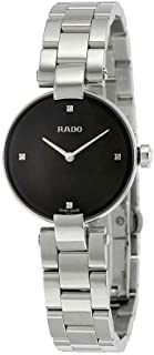 Rado Women's Black Dial Color Metal Strap Watch - R22854703