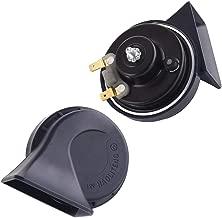 KYOUDEN 車 ホーン 12V レクサス 純正サウンド ホーン 防水 汎用 110db 高音/低音2個セット LEXUS 車 クラクション トヨタ・ホンダ・ニッサン・スズキ適用 (トヨタ・ホンダ・ニッサン・スズキ適用)