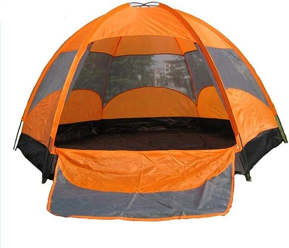 VATHJ Tente de Camping étanche extérieure 8 Personnes Grande Tente en Caoutchouc laminé Double