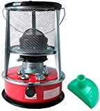 Calentador de Patio Portátil Keroseno Calentador Estufa Keroseno Estufa Quemador Camping Calentadores de Aceite para Exteriores Balcón al Aire Libre Jardín Parasol Garaje de Techo Patio