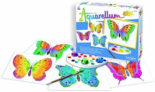 Sentosph  3900661 Aquarellum Junior Butterflies Painting Set by Sentosphere