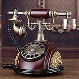 motes uvar Europea antigüedad Teléfono, Rotary Dial Telephone, Retro–Teléfono–, metal–, American Telephone Set