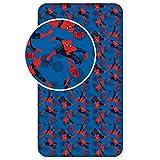 Jerry Fabrics Sábanas Ajustables para Niños, Algodón, Azul (Dark Blue), 200x90x25 cm