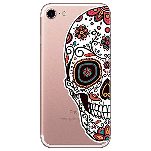 Qissy iPhone 7 Funda,Carcasa iPhone 7 Case Cover Dibujos Animados Silicona Suave Funda para Apple iPhone 7 4.7' (13)