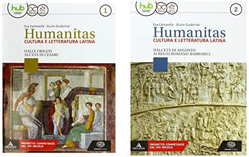 Humanitas. Cultura e letteratura latina. Per il triennio dei Licei. Con ebook. Con espansione online: 1-2