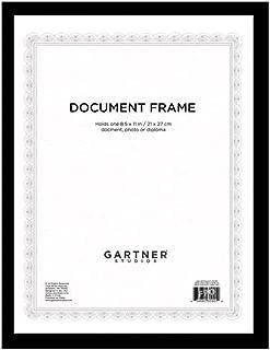 Black Certificate Frame