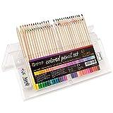 Lápices de colores, juego profesional de 62 piezas, juego de lápices de dibujo de arte profesional, juego de lápices de colores de dibujo para adultos, estudiantes y artistas profesionales,62pcs