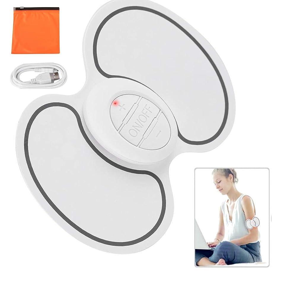 最大限酸化する過半数首、背中、肩、自宅での使用、車、オフィスの強度痛み疲労のための熱ディープニーディングマッサージ付きEMCネック肩筋パルスマッサージパッド