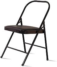 ZNBJJWCP Chair Yoga Chair Auxiliary Chair Hard Yoga Studio Folding Chair Yoga Aid Chair Stool