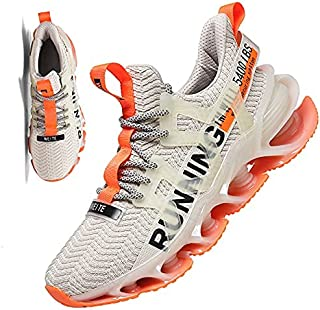 Running Shoes for Men Sneakers Mens Walking Shoes Black...