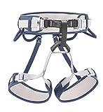 PETZL Corax Climbing Harness, Blue Jean, Size 1