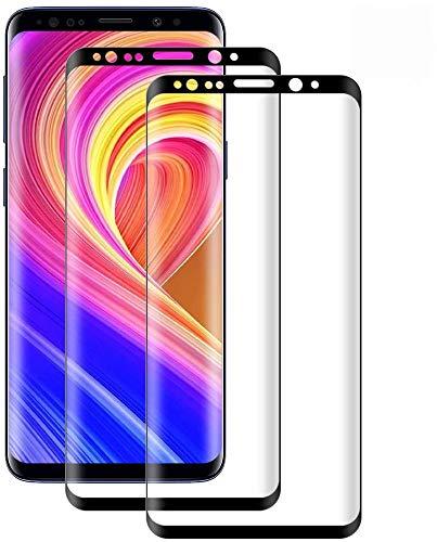 Cristal Templado para Samsung Galaxy S8, [2 Pack] Protector de Pantalla para Samsung Galaxy S8, 9H Dureza,Vidrio Templado,Anti-rasguños