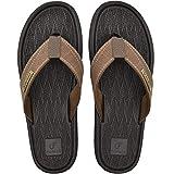 COFACE Chanclas Hombre Sandalias de Dedo Planas Goma Flip Flops Playa Piscina Talla 45 Verano Zapatos de Playa Antideslizante para Adulto Men