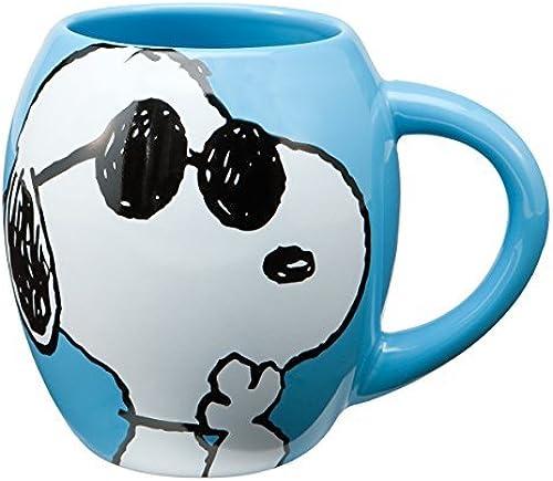 alta calidad Vandor Vandor Vandor 85401 Peanuts Oval Ceramic Mug, Joe Cool, azul, 18-Ounce by Vandor  grandes precios de descuento