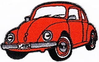 Beetle VW Classic Sew-on Iron-on Patches Embroidered Applique