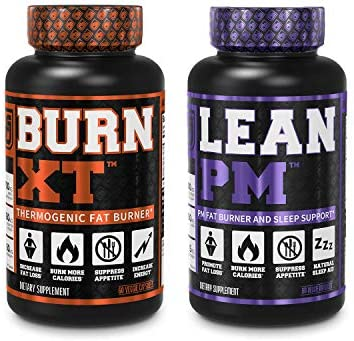Burn XT Thermogenic Fat Burner Lean PM Nighttime Weight Loss Supplement 60Ct Diet Pills product image