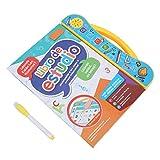 Livre sonore ABC électronique préscolaire, livres parlants en espagnol, anglais éducatif pour les enfants de plus de 3 ans, apprentissage des lettres(yellow)