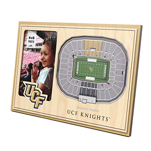 YouTheFan NCAA Central Florida Knights 3D StadionView Bilderrahmen