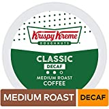 Krispy Kreme, Keurig Single-Serve K-Cup Pods, Classic Decaf Medium Roast Coffee, 72 Count