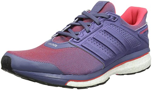 adidas S80275, Zapatillas de Running para Mujer, Morado (Super Purple/Super Purple/Shock Red), 36 EU