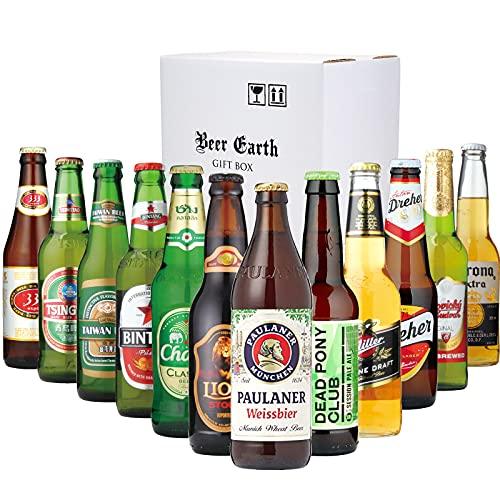 世界のビール 飲み比べギフトセット【12ヵ国12本】【ボトルビールギフト】【全品正規輸入品】【ブリュードッグ パウラーナ— ドレハー バドバー コロ