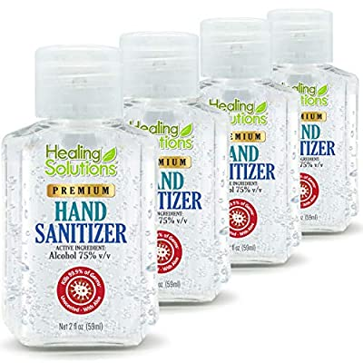 hand sanitizer gel travel size