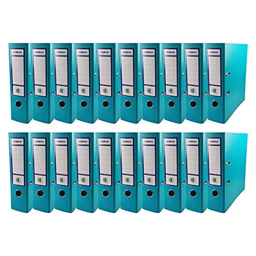Netuno 20 raccoglitore cartoneecologicoriciclatoturchesea 2 anelliA4dorso8 cmfaldone portadocumentiper ufficio scuola archivio