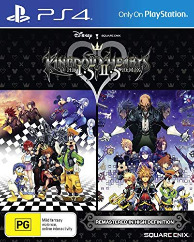 Square Enix Kingdom Hearts HD 1.5 + 2.5 Remix PS4