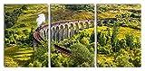 Pixxprint Eisenbahnviadukt in Schottland als XXL