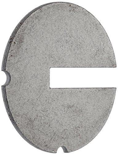 Hegner Tischeinlegeteil aus Metall mit Schlitz für M1/M2S/M-SE/M-Quick, 200092