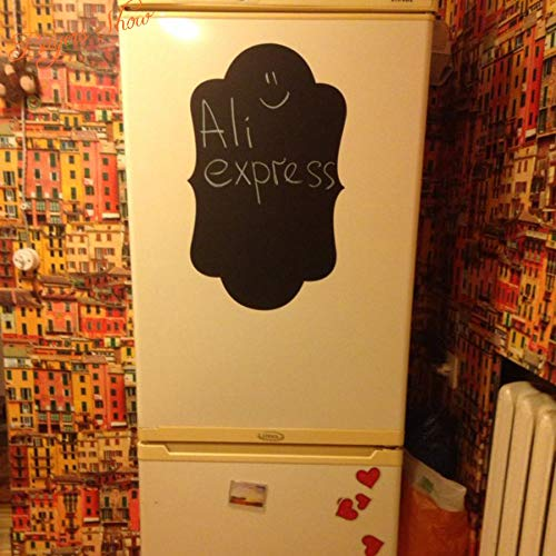 Njuxcnhg Kühlschrank Aufkleber Großhandel Vinyl Wandtattoos Tafel Aufkleber Tafel Wandaufkleber Küche Wohnkultur Mit 50X30 cm