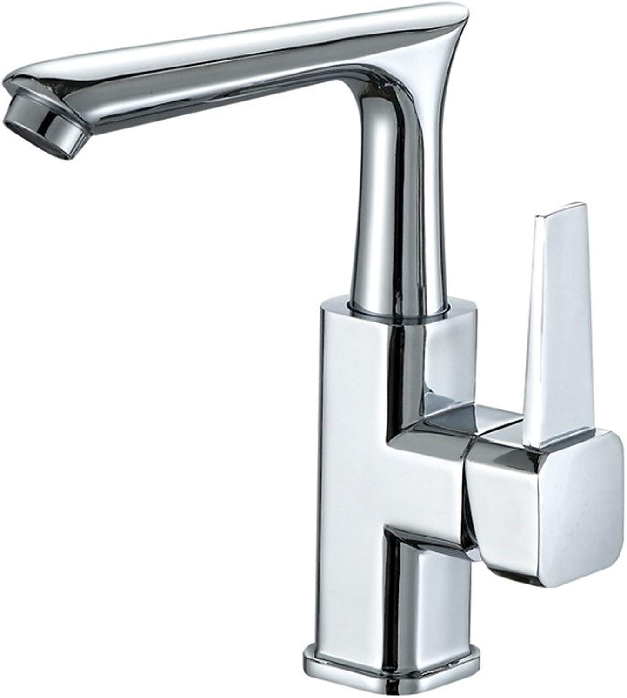 Lvsede Bad Wasserhahn Design Küchenarmatur Niederdruck 360% Drehbares Teilweises Kupfer-Einloch-Kalt- Und Warmmischventil Für Becken L6478